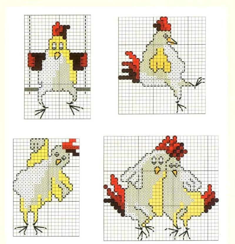 Схемы вышивок крестом как из сделать из картинки