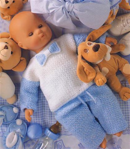 Вязание костюмчиков для новорожденных крючком для начинающих