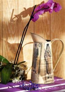 стиле, фото Декупаж своими руками. ваза в восточном стиле - декупаж и.
