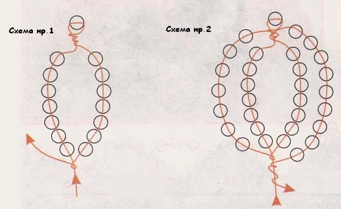 Схемы плетения апельсинового дерева - Апельсиновое дерево из бисера