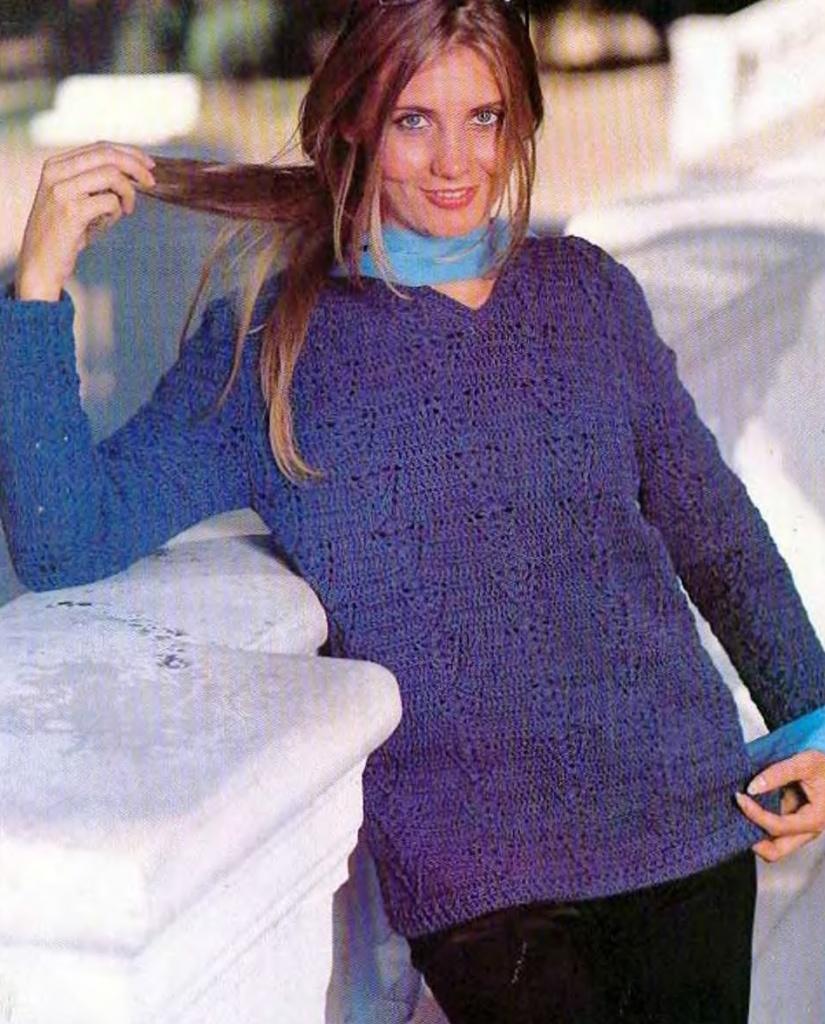 ...из галереи Основы выкройки брюк , Модели одежды вязанной крючком.