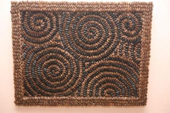 Декор рамок из кофейных зерен (1)