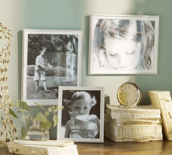 Как правильно оформить стену с помощью фотографий (2)