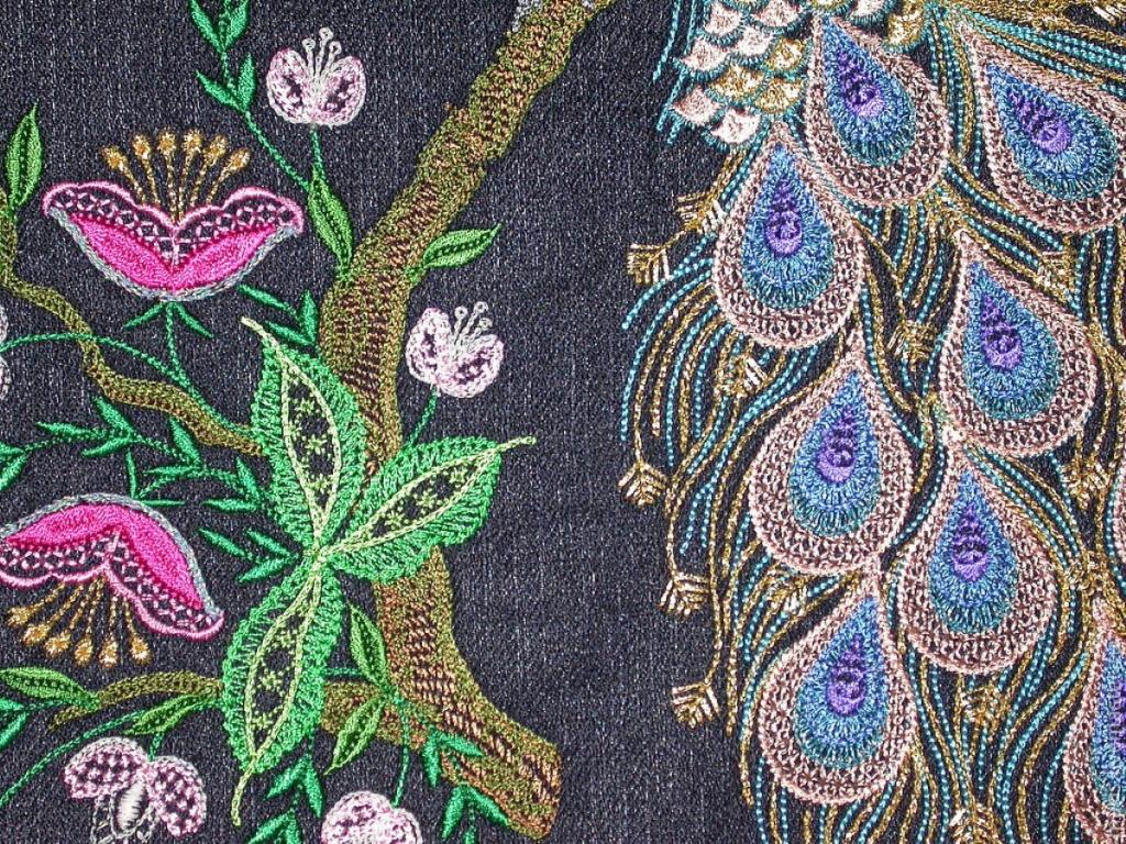 Декоративная вышивка что это такое