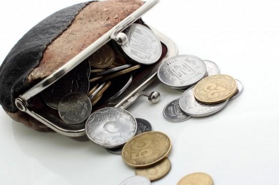 Монета в кошельке