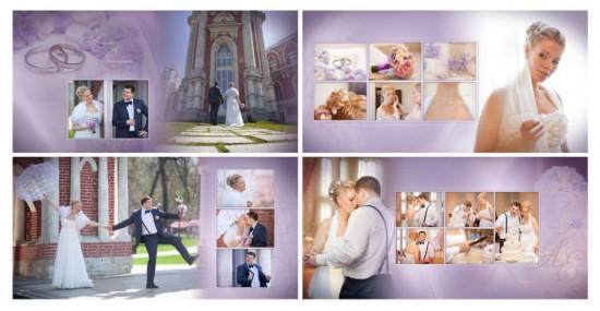 Изготовление свадебной фотокниги 2