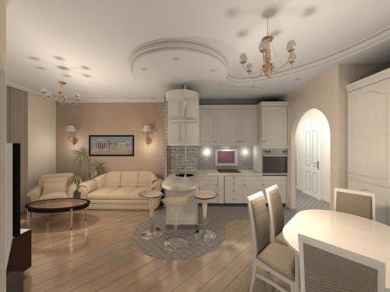 Профессиональный дизайн – превосходный интерьер квартиры2