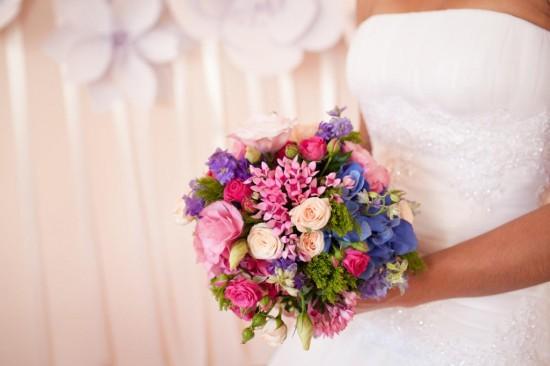 Букет невесты для свадебного торжества