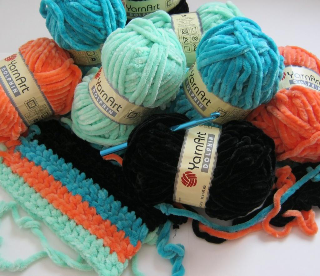 как выбрать пряжу для шарфа
