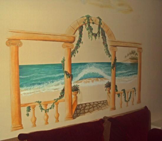 Креативное украшение стен2