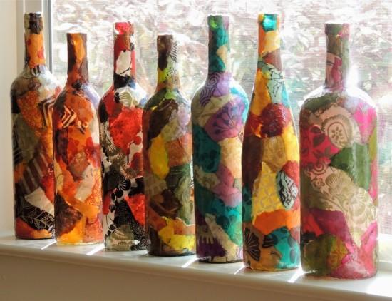 Новая жизнь для старой вазы