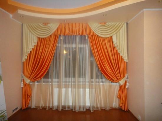 Как украсить шторы своими руками2