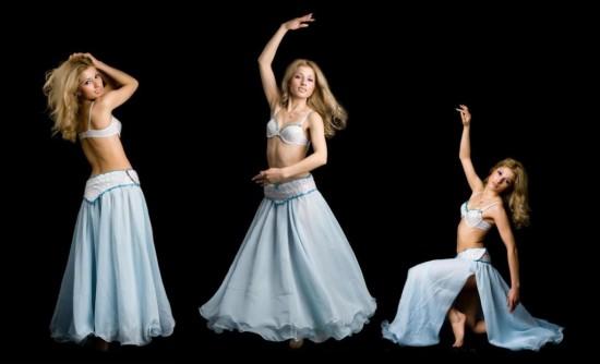 Занятия восточными танцами