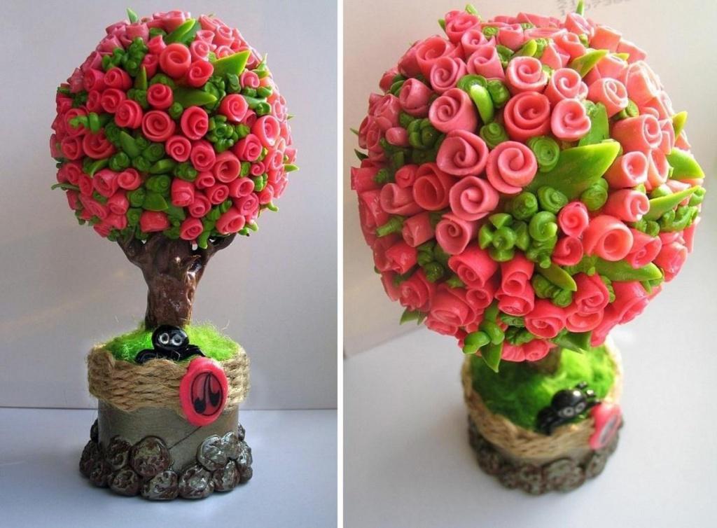 Как сделать топиарий дерево счастья своими руками