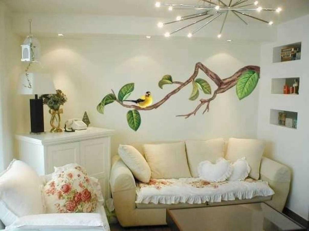 Рисунки на стенах фото своими руками