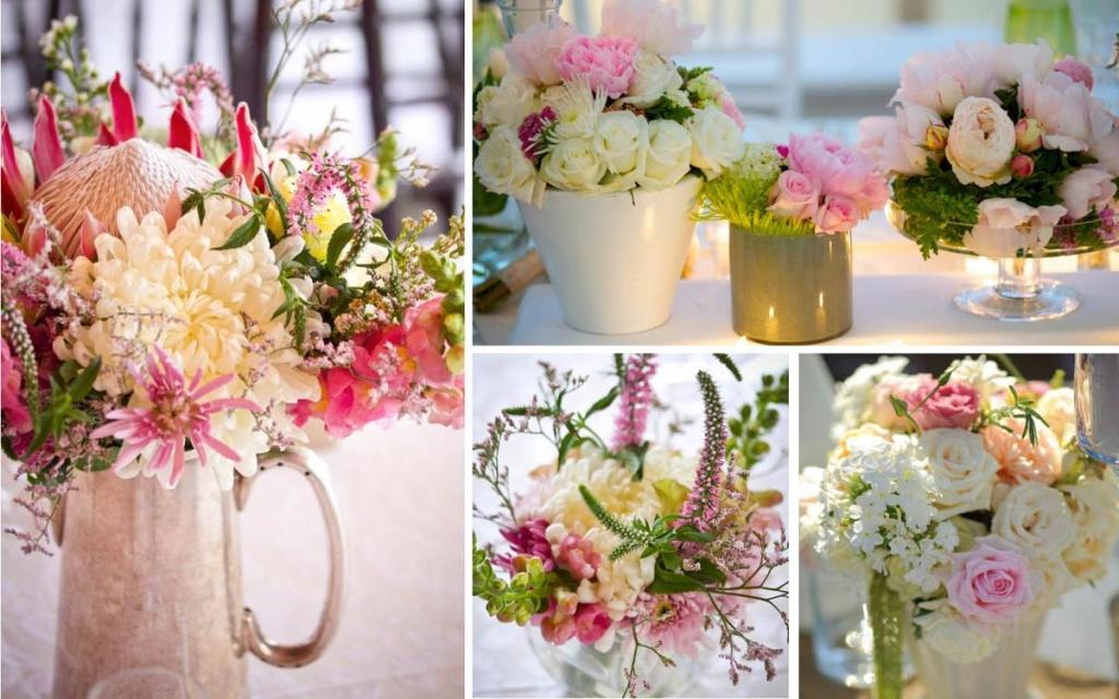 Праздничное оформление цветами