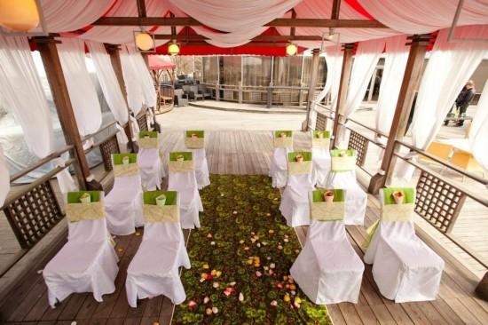 Уникальное оформление свадьбы