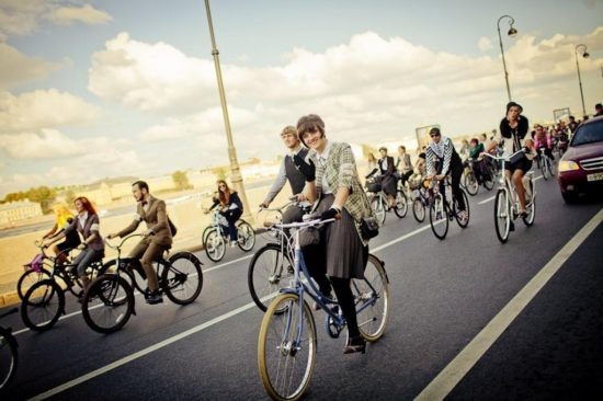 Польза велопрогулок