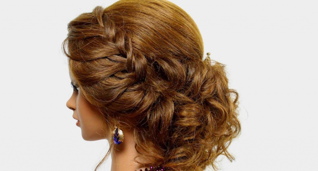 Прически.плетение на средние волосы